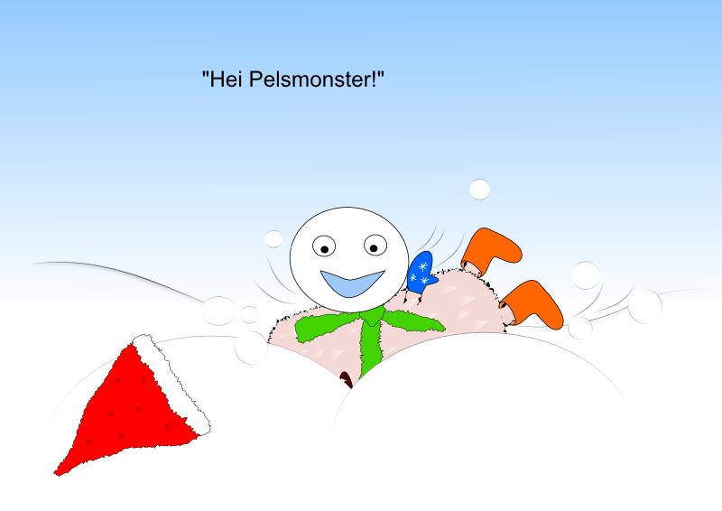Hei Pelsmonster!